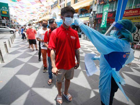 thailand temperature check covid