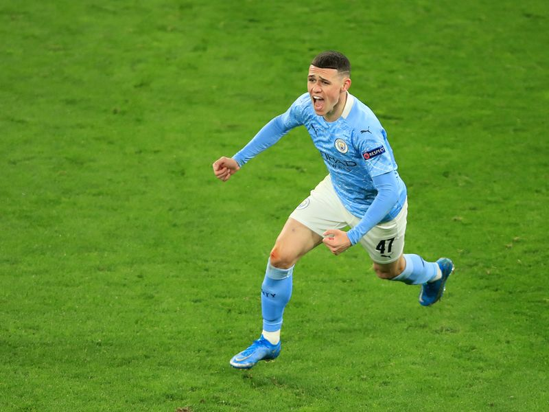 Champions League: Foden fires Man City into semi-final clash with PSG
