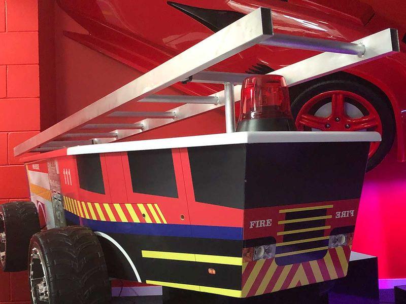 Coffin fire engine new zealand