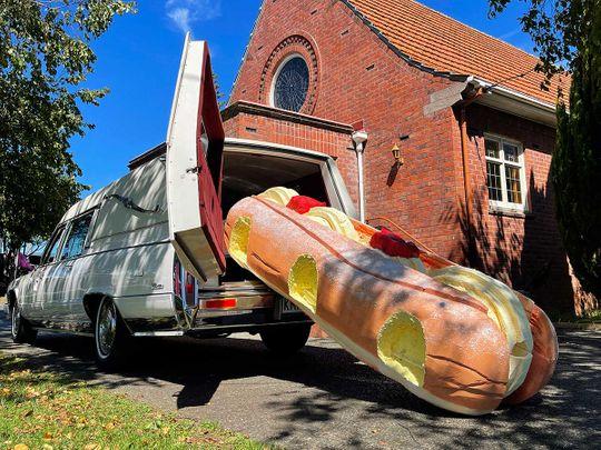 Doughnut donut coffin new zealand