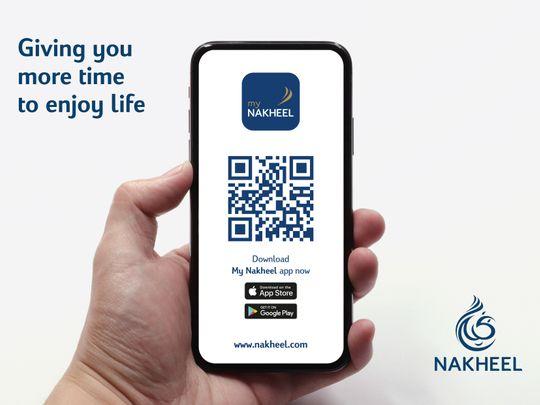 My Nakheel app