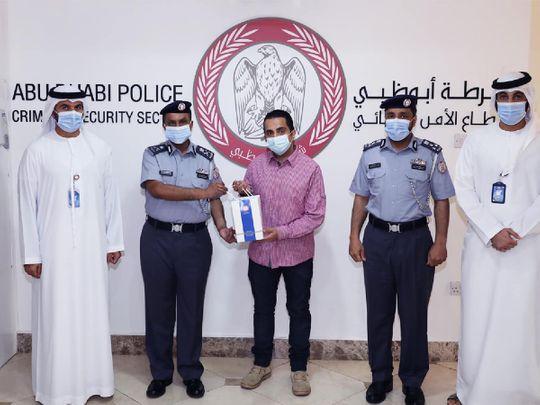NAT Abu Dhabi Police honours Arab expat-1618493393326