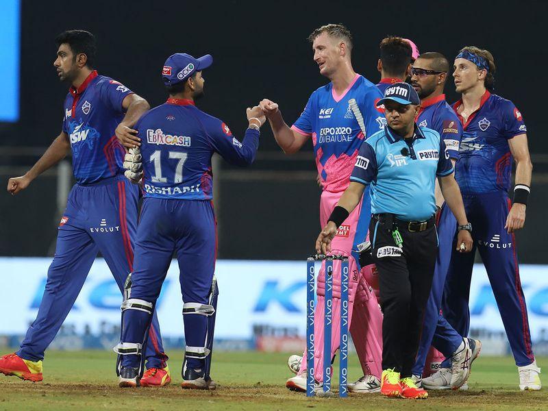 Rajasthan and Delhi players