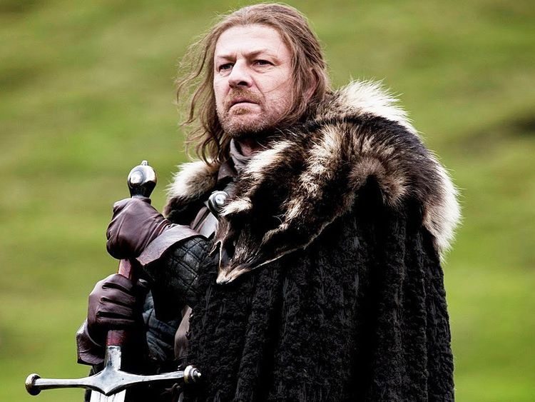 Sean Bean as Ned Stark in Game of Thrones-1618472137966