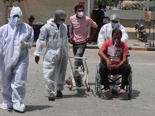 india health workers covid ahmedabad