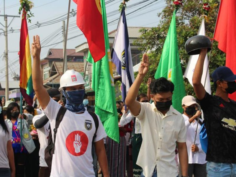 Myanmar security forces fire on protesting medical workers, some hurt