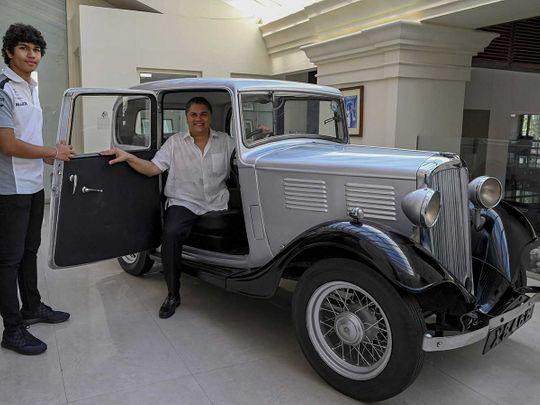 1935 Standard Nine Prince Philip car  Galle Face Hotel chairman Sanjeev Gardiner Sri Lanka