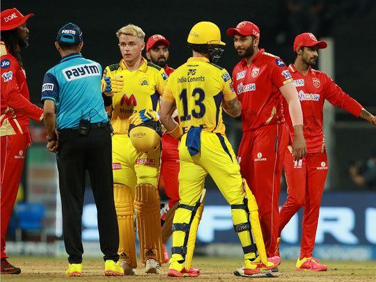Chennai and Punjab players