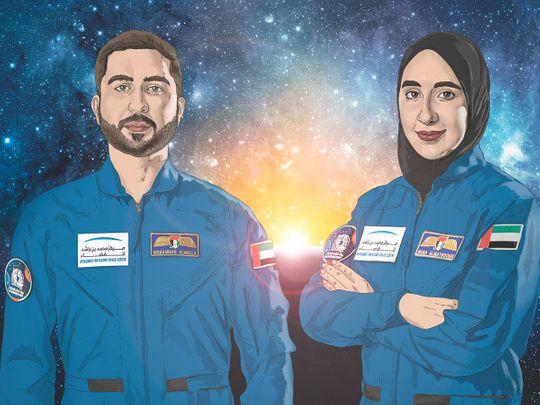 Nora Al Matrooshi and Mohammed Al Mulla
