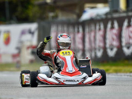 Rashid Al Dhaheri win in Italy