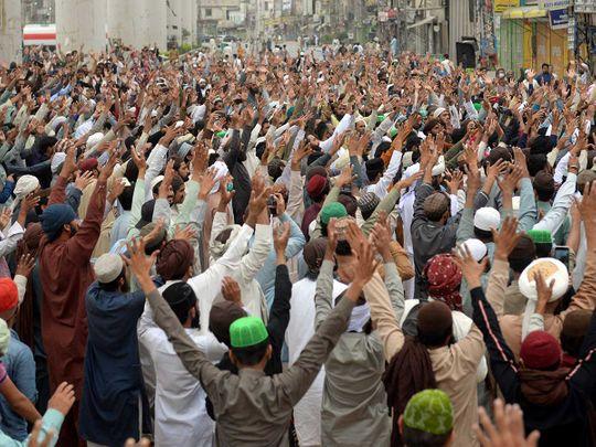 TLP pakistan protest