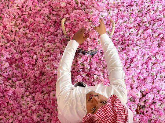 In photos: Saudi Arabia's city of roses blooms in Ramadan