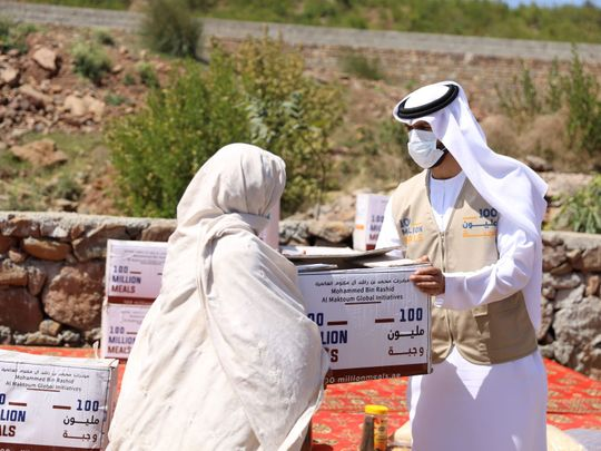 UAE's '100 Million Meals' achieves 78% of target soon after launch