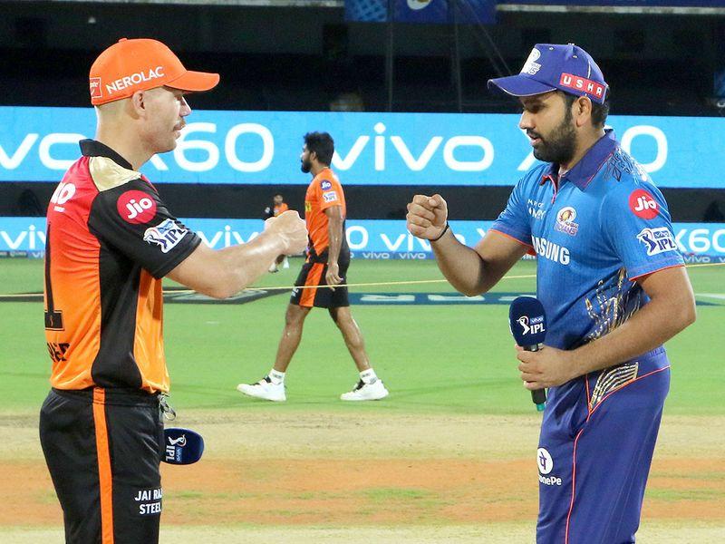 David Warner and Rohit Sharma