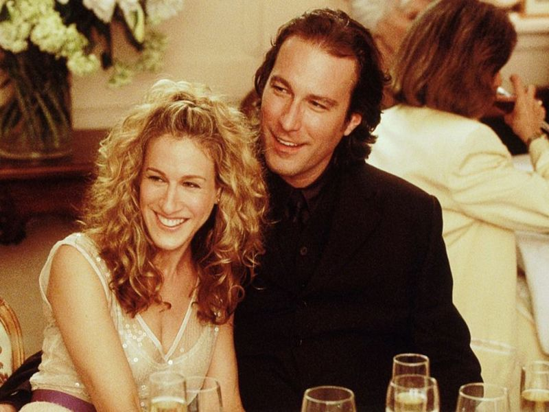 Sarah Jessican Parker and John Corbett in Sex and the City