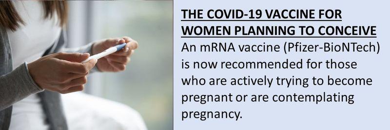 Covid vaccine mums