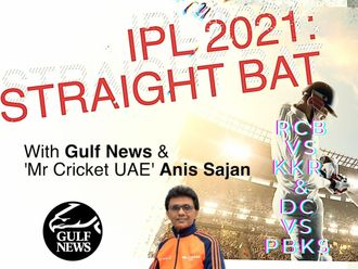 IPL 2021: Straight Bat with Gulf News and Mr. Cricket UAE Anis Sajan - RCB vs KKR and DC vs PBKS