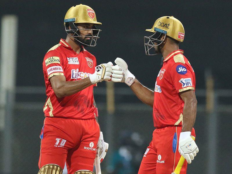 KL Rahul and Mayank Agarwal o