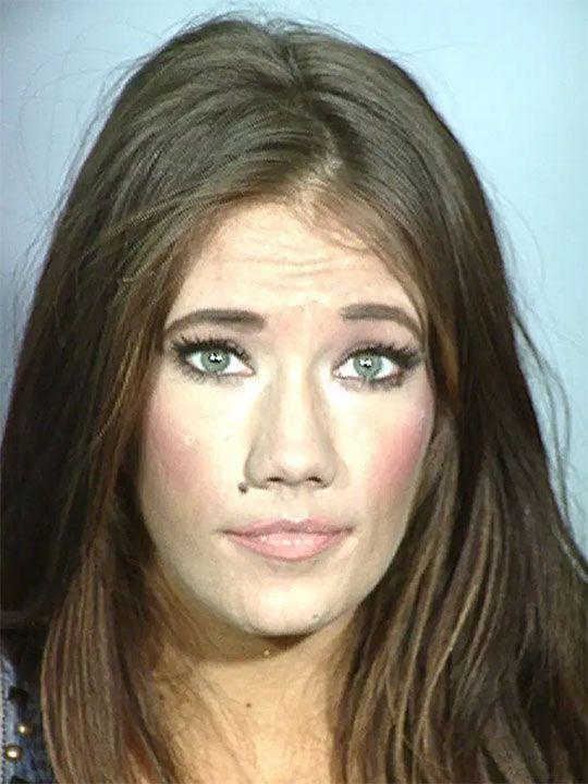 Katherine Nicole Rees after her July 2015 arrest. (Las Vegas Metropolitan Police)
