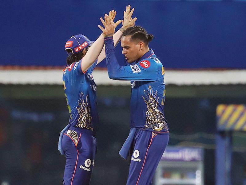 MI v SRH IPL