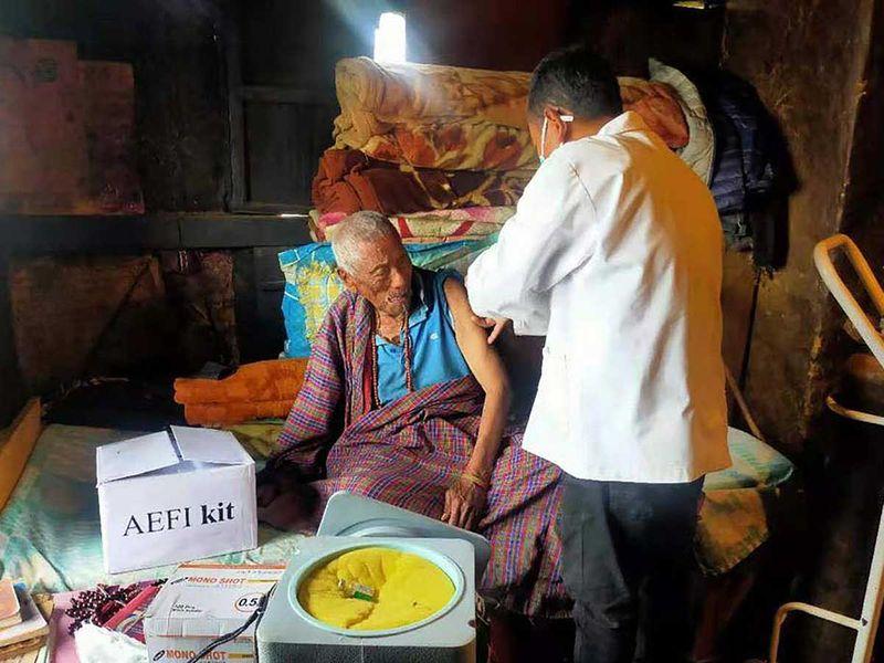 Bhutan vaccine covid