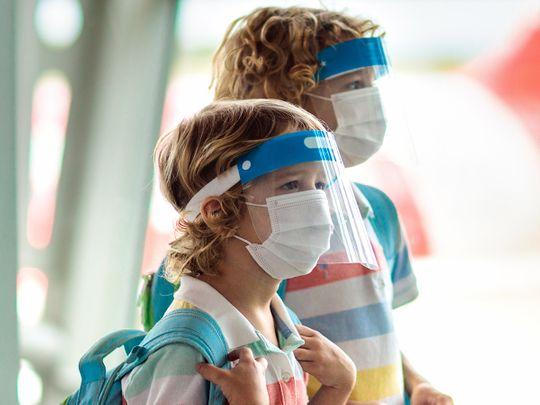Stock child mask