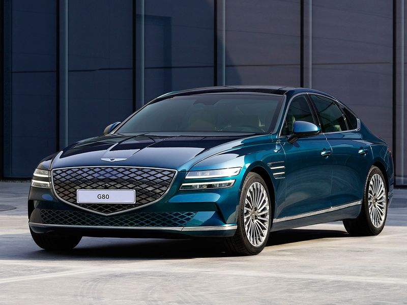 Genesis shows off first EV model, the Electrified G80 | Auto-news – Gulf  News