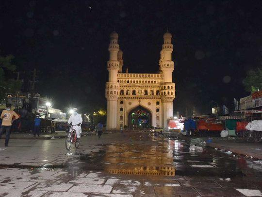 Chaar Minar Telangana night curfew covid