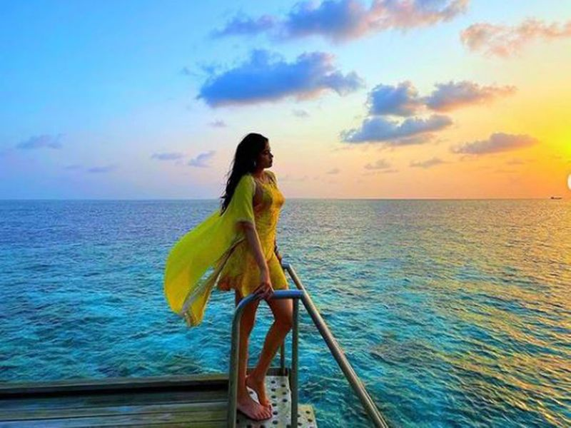 Janhvi Kapoor in Maldives