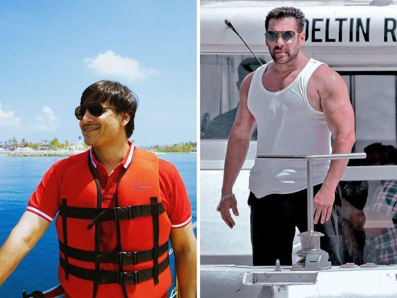Salman Khan an Vivek Oberoi