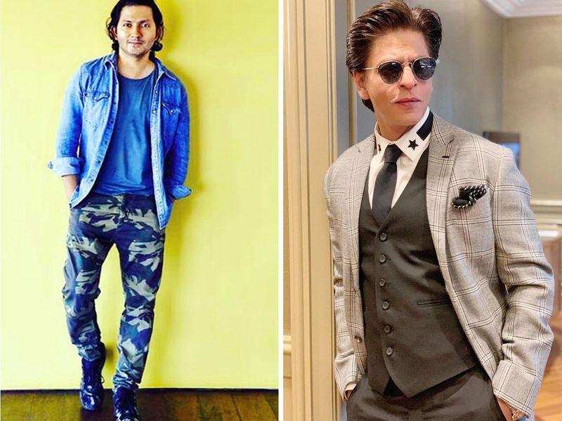 Shahrukh Khan and Shirish Kunder