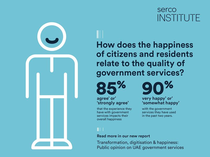 90 per cent of UAE citizens and residents happy with government services, study says