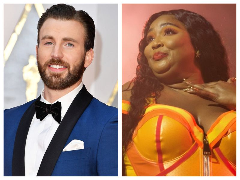 When Lizzo took her shot and slid into Chris Evans' DMs