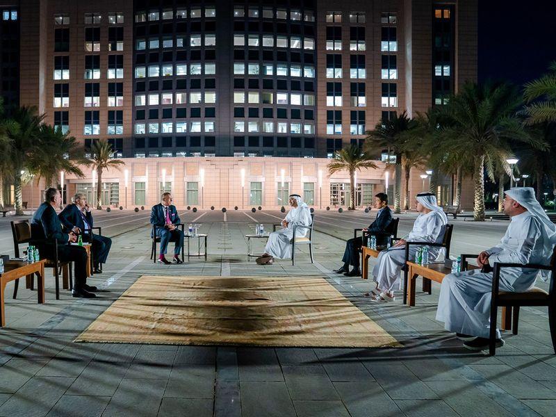 Abdullah bin Zayed receives Israeli envoy to GCC
