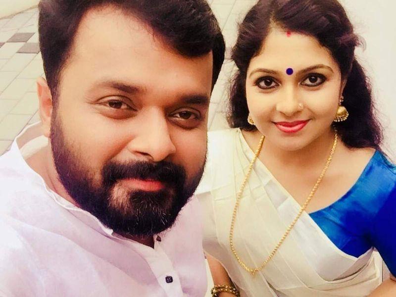 Ambili Devi with Adithya Jayan