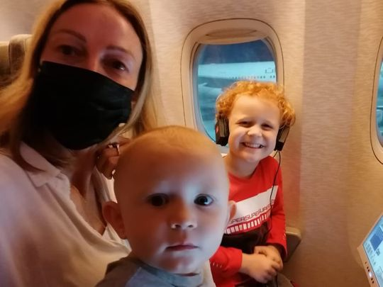 How different is a family vacation during the time of COVID-19? Yvonne Kerr travelled with her two young children from Dubai to the Maldives during the pandemic