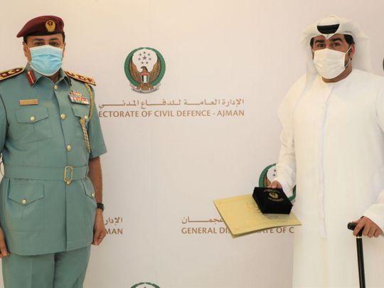 NAT Emirati man honoured-1618987453970