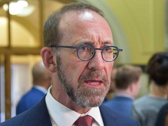 New Zealand's Health Minister Andrew Little