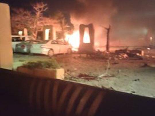 Quetta hotel fire