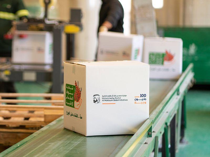 UAE's '100 Million Meals' campaign goes beyond target