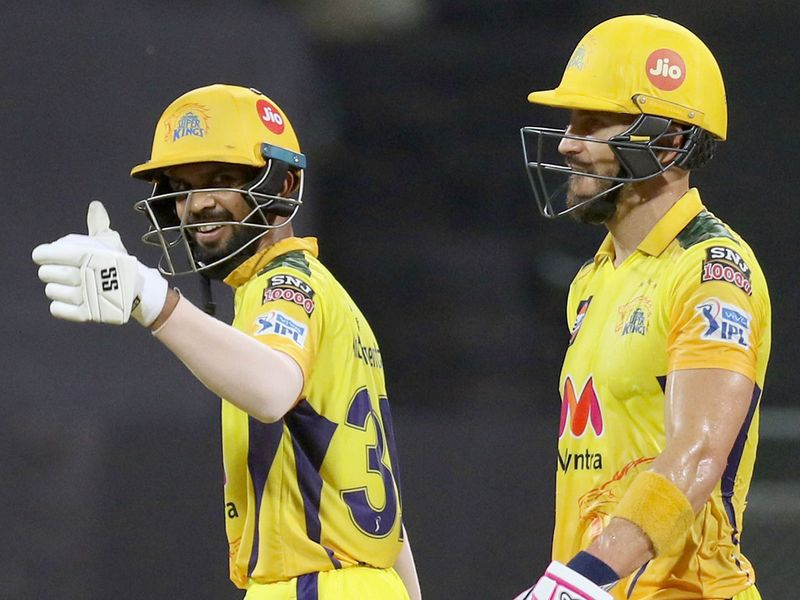 Chennai Super Kings racked up a big score against KKR
