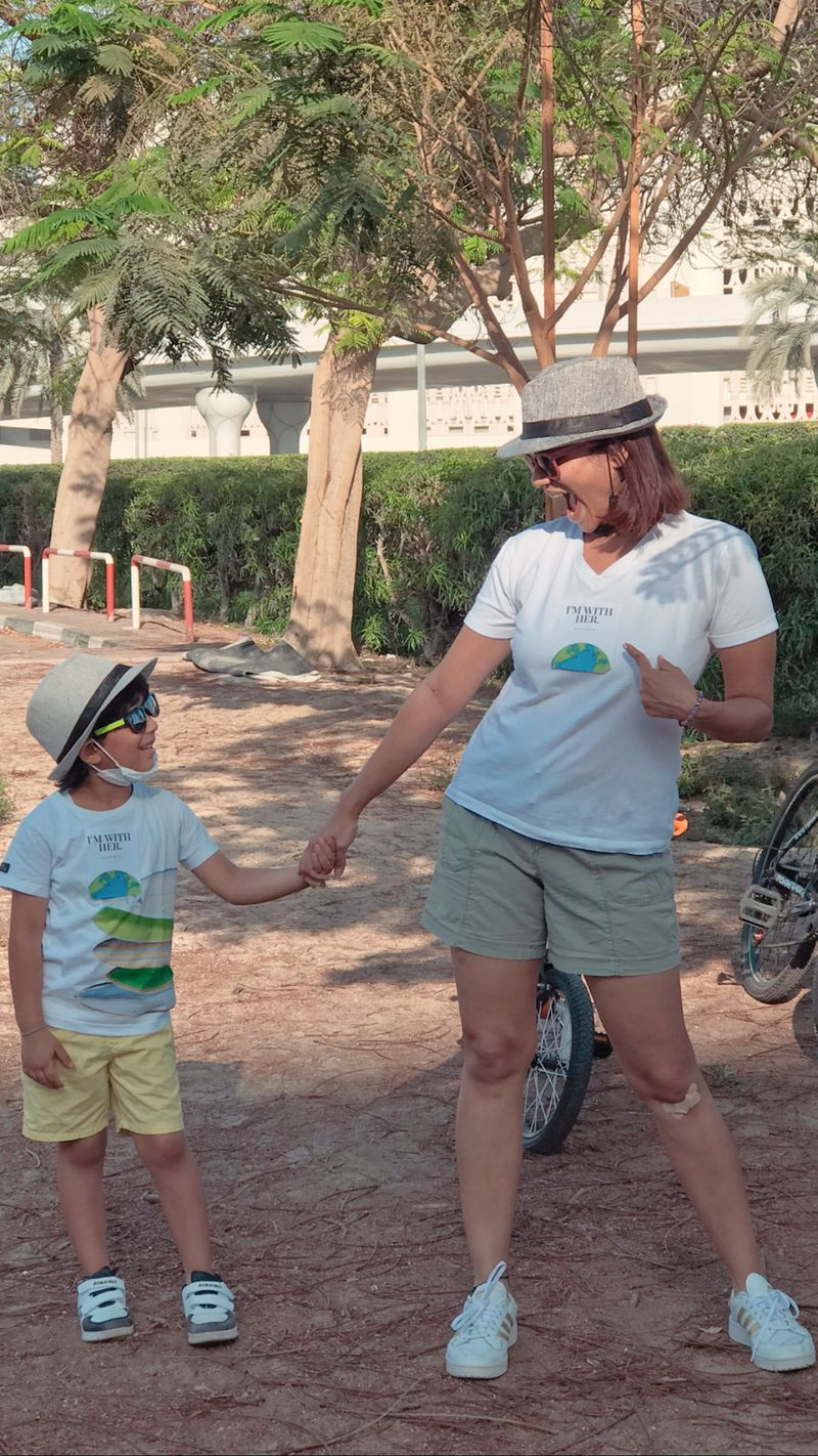 Dubai-based mum, founder of fashion label Nats and Jun (www.natsandjun.com) and sustainability activist Natasha Bajaj says that sometimes our little ones can teach us big lessons.