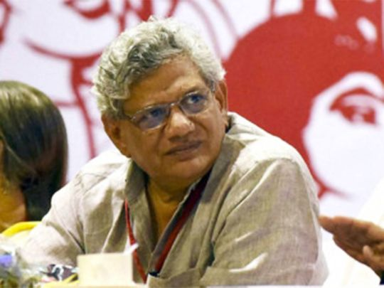 File photo: CPI(M) General Secretary Sitaram Yechury