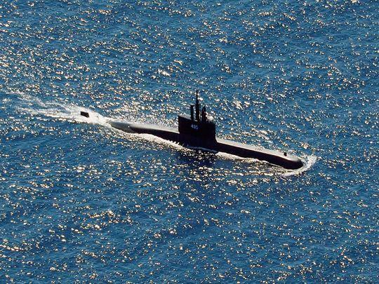 Indonesian Navy submarine KRI Alugoro
