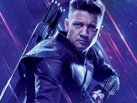 Jeremy Renner as Hawkeye-1619078227297