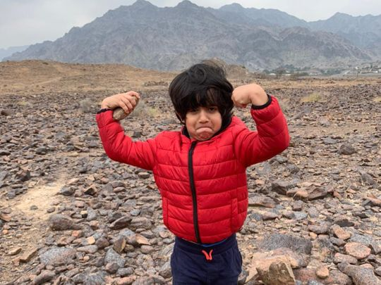 Natasha Bajaj's 5-year-old son has the wisdom only children can have