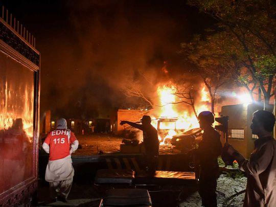 Pakistan blast quetta