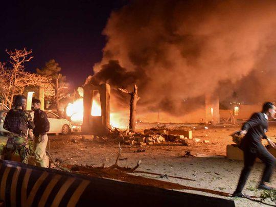 Pakistan hotel blast quetta