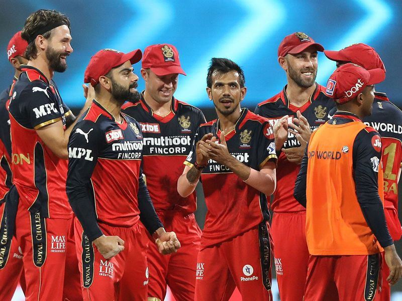 Royal Challengers Bangalore players