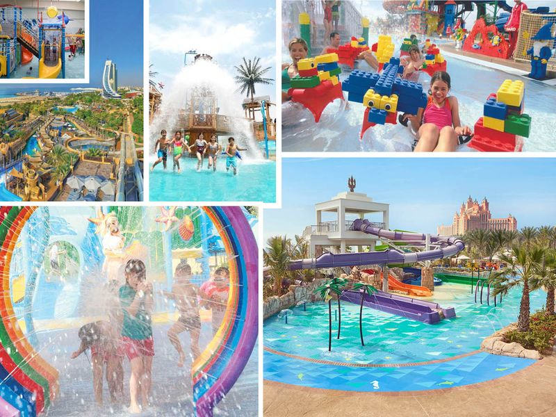 Wonderful water parks for kids